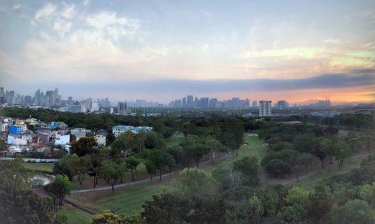 マニラマリオットホテルからの眺め