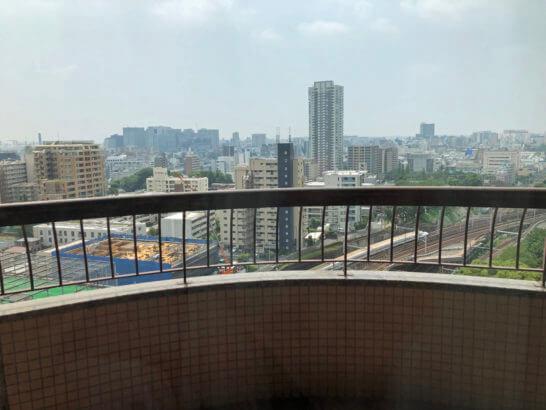 東京マリオットホテルのスーペリアキングからの景色