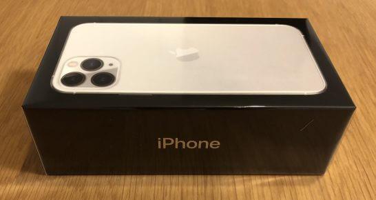 iPhone Proの箱