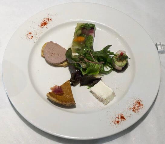 ヴァン・ド・レーブのごほうび予約の前菜