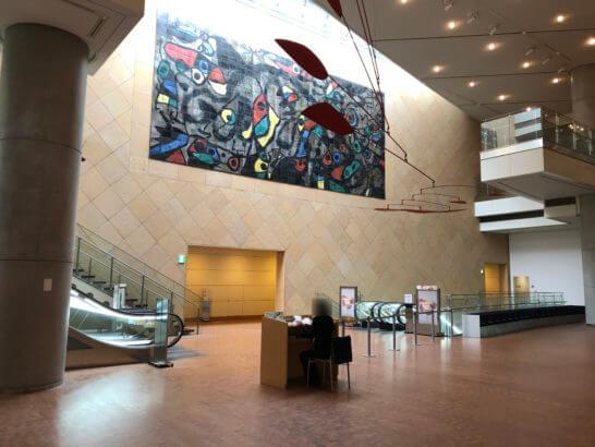 国立国際美術館のコレクション展のフロア