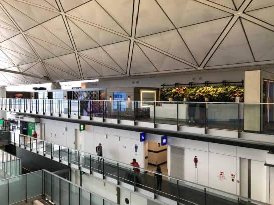 香港のアメックスセンチュリオンラウンジ