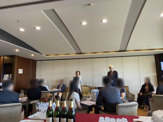 大和屋 暁さん、著名競馬パーソナリティーの鈴木 淑子さんによる「馬主ライフとは?」の講演