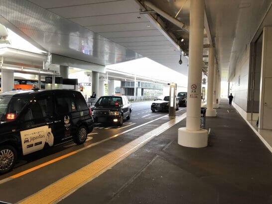 羽田空港のタクシー乗り場
