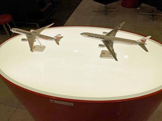 USJ JALラウンジの模型