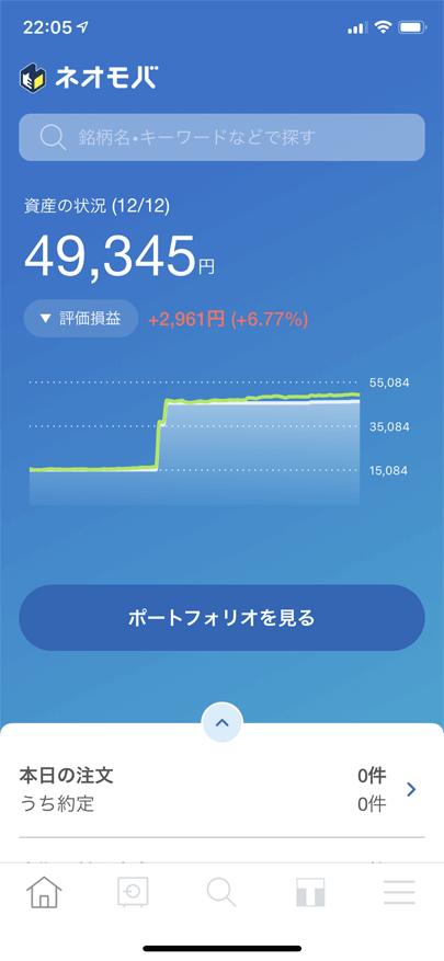 ネオモバのスマホアプリ