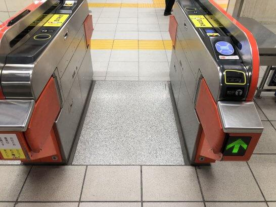 福岡空港駅の改札