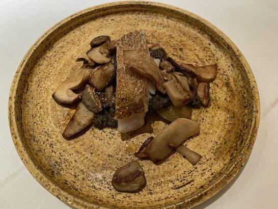 エクアトゥールの魚料理