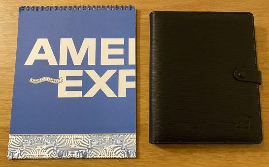 アメックスのカレンダーと手帳