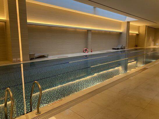 ルメリディアン台北のプール