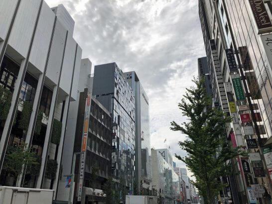 銀座・東京の街並み