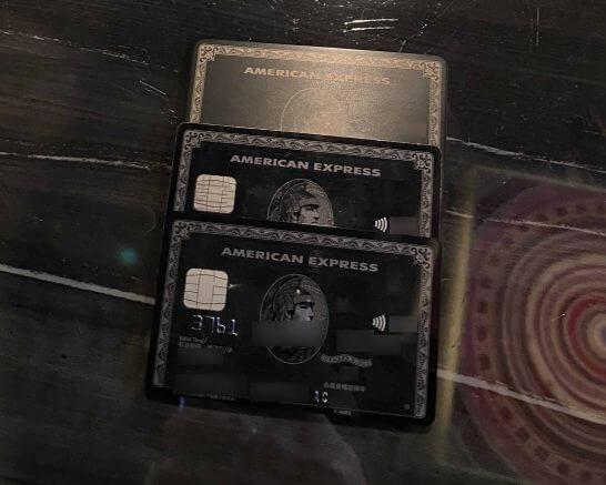 アメックスセンチュリオンのACカード・基本カード・チタンカード