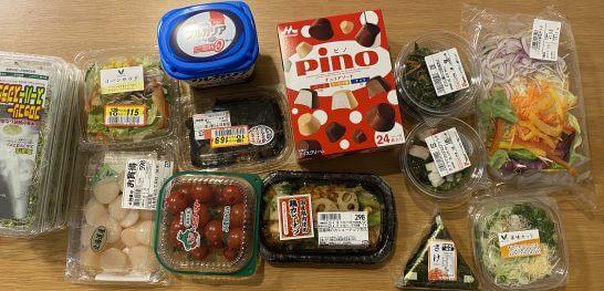 東武ストア等で購入した食品類