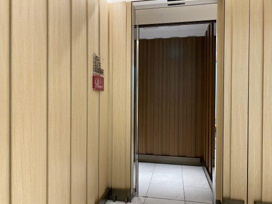 那覇空港ANAスイートラウンジの入り口