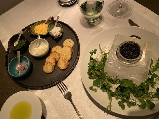 シャングリ・ラホテル 東京のキャビア