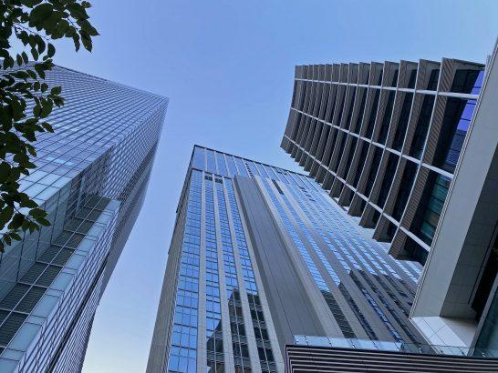 シャングリ・ラ ホテル東京が入居しているビル
