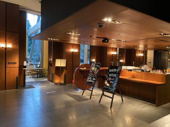 アンダーズ東京1Fのカフェレストラン