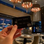 シャングリ・ラホテル 東京のピャチェーレとラグジュアリーカード ブラック