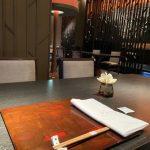 シャングリ・ラ ホテル 東京のなだ万のテーブル
