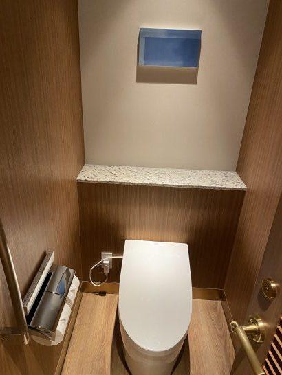 インターコンチネンタル横浜Pier8の個室トイレ