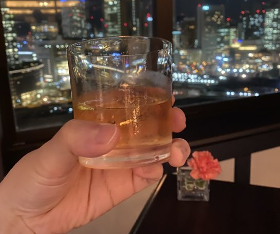 ウェスティンホテル大阪のエグゼクティブクラブラウンジのシーバスリーガル12年