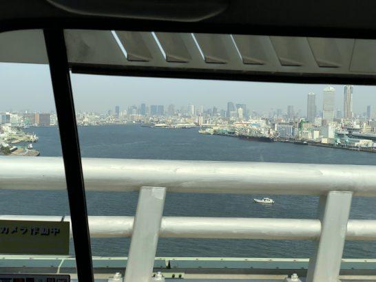 USJからセントレジスホテル大阪に向かうタクシーの車中