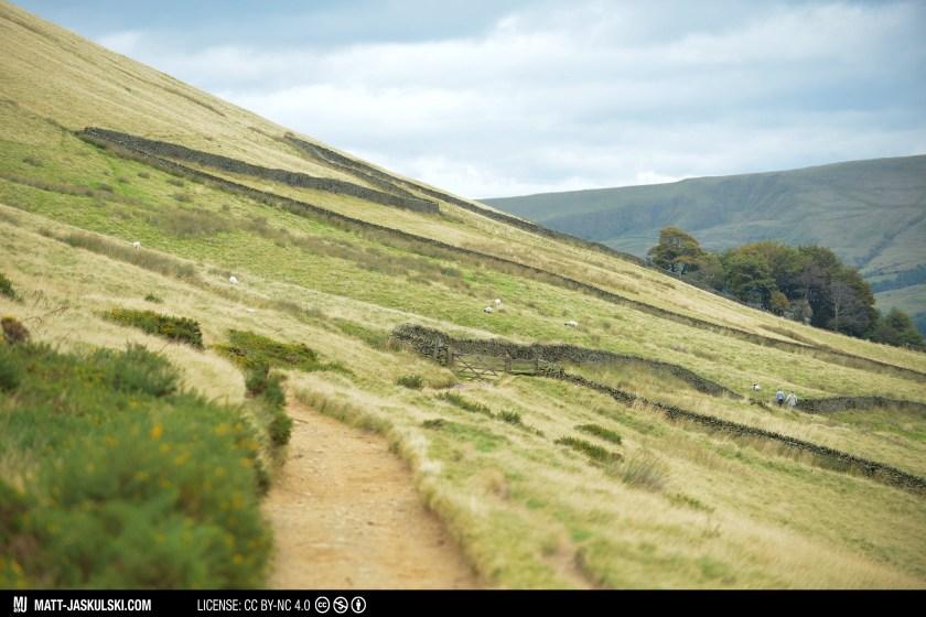 70200mm britain hiking landscape nationalpark Nikon path peakdistrict road travel uk