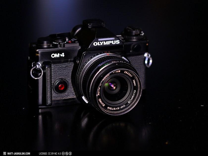 analog camera gear olympus olympusom om4 photography slr vintage