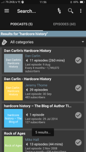 Podcast Addict Search Results