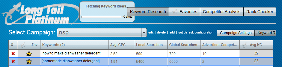 Mini Niche Site Project - Keyword Research
