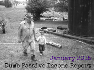 Passive Income Report January 2015