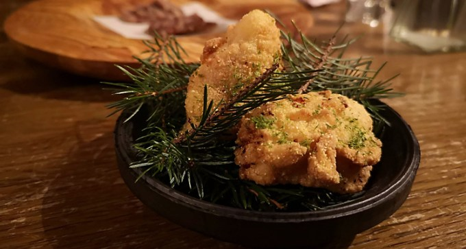 Buttermilk-fried pheasant
