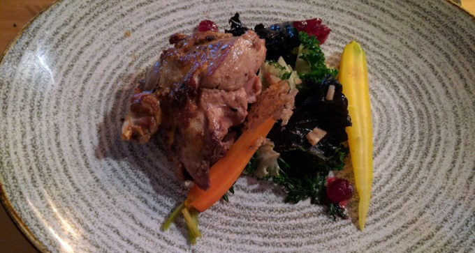 Heima: pheasant and chestnut
