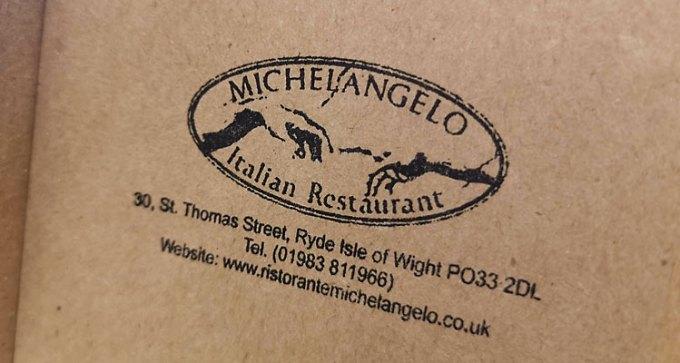 Ristorante Michelangelo, Ryde