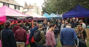 Street Diner street food market at Brighthelm Garden