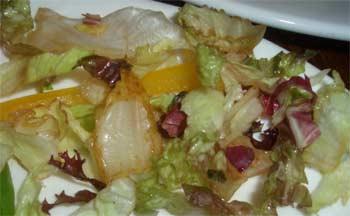 Fresh salad? Surely not...