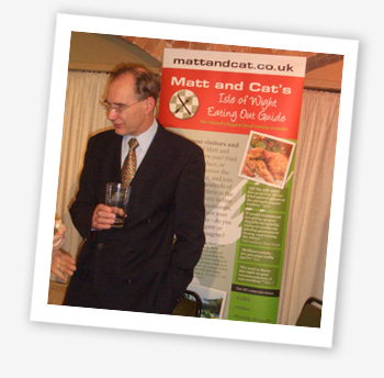 Andrew Turner MP at the Isle of Wight Healthy Eating Awards