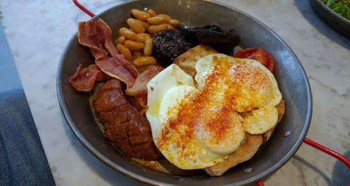 Ingles breakfast at Tapas Revolution