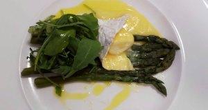 Asparagus and Borthwood Brie