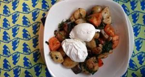 Bluebells vegetarian breakfast