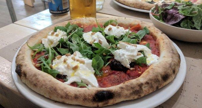 Pi Shop: spicy nduja sausage pizza