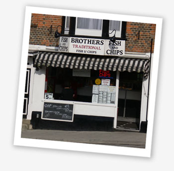 Brothers Fish and Chip Shop, Brading