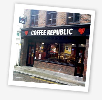 Coffee Republic, Newport