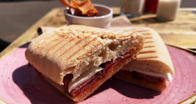Italian-style panini