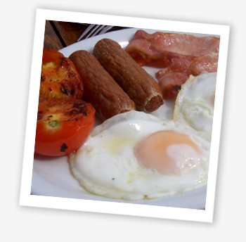 Breakfast at the Crown Hotel, Ryde