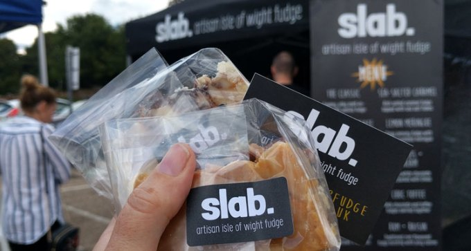 Slab fudge