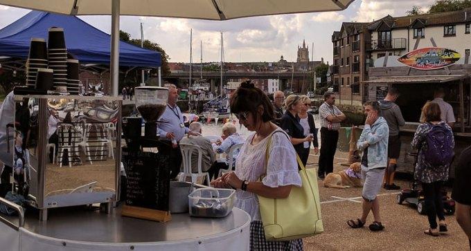 Newport street food market