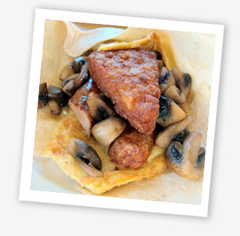 Isle of Wight Pearl breakfast wrap