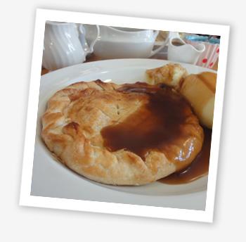 Larder and Pie House, Sandown. Nammet pie