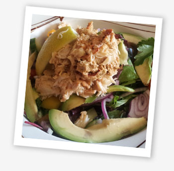 Bembridge crab salad